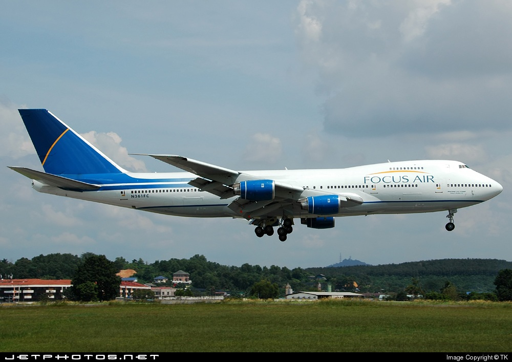N361FC - Boeing 747-236B(SF) - Focus Air