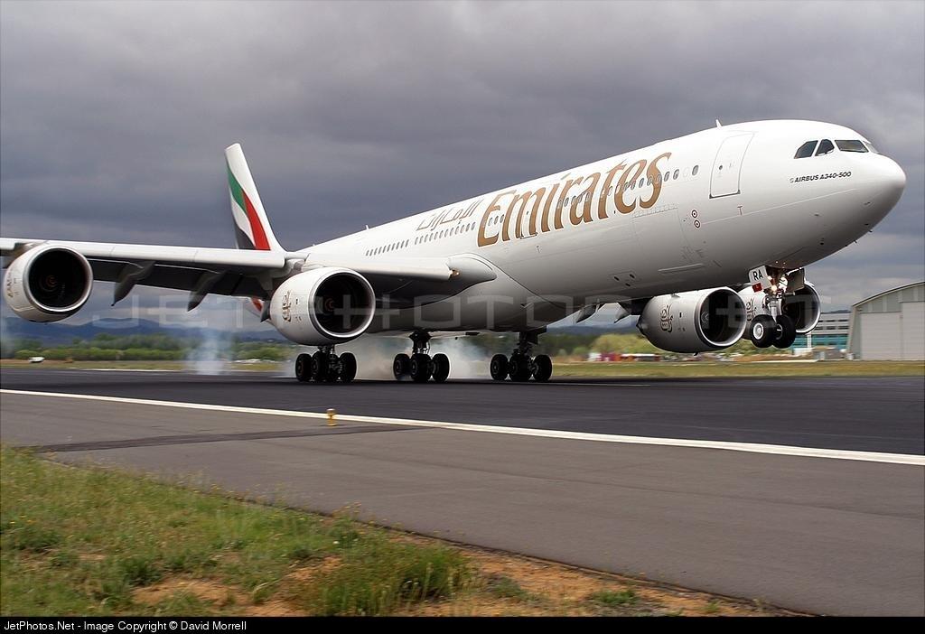 a6 era airbus a340 541 emirates david morrell jetphotos