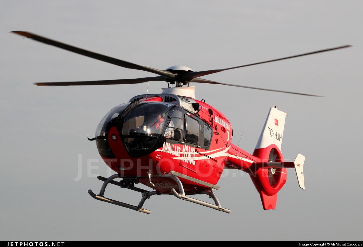 TC-HJH - Eurocopter EC 135T2i - Turkey - Ministry of Health