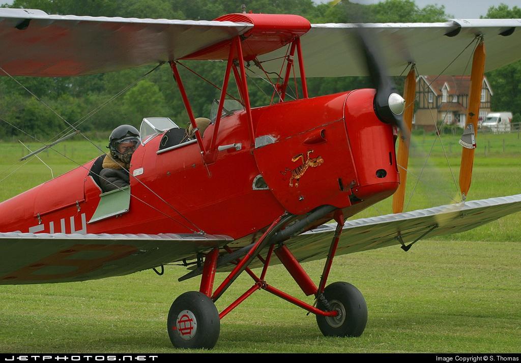 G-BFHH | De Havilland DH-82 Tiger Moth | Private | S