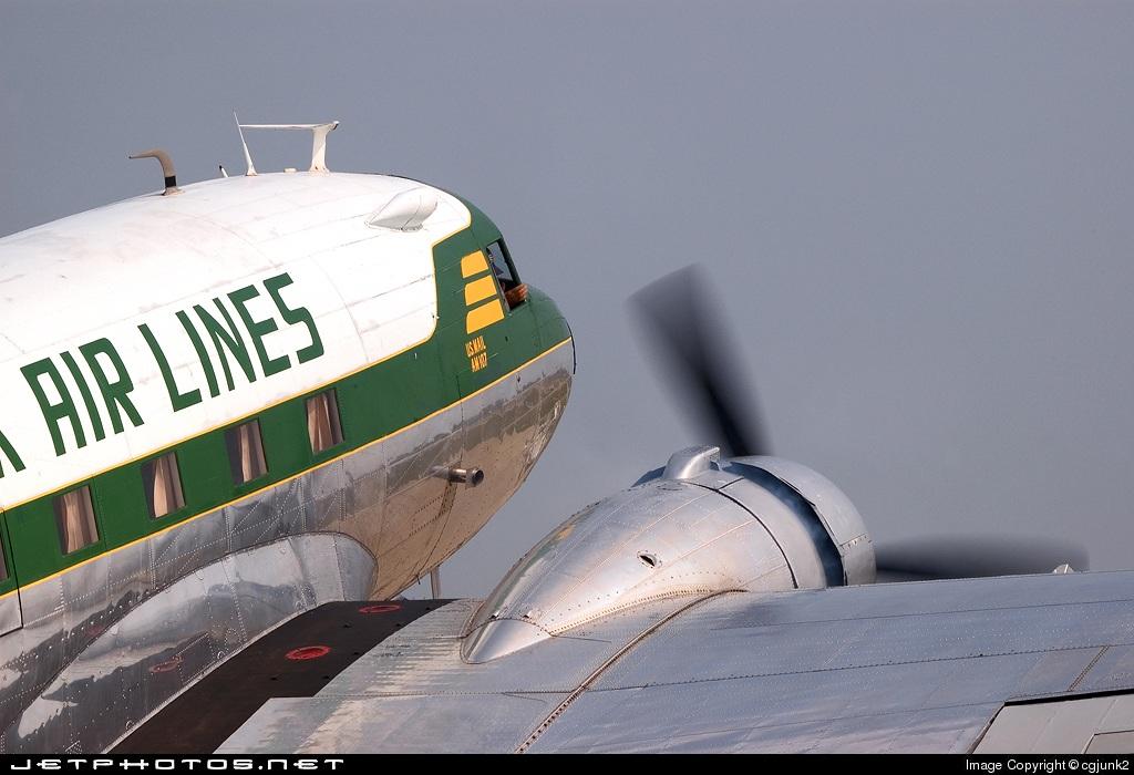 N763A - Douglas DC-3A - Ozark Air Lines