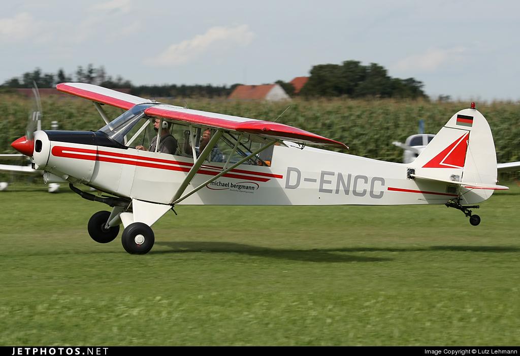 D-ENCC - Piper L-18C Super Cub - Flugschule Michael Bergmann