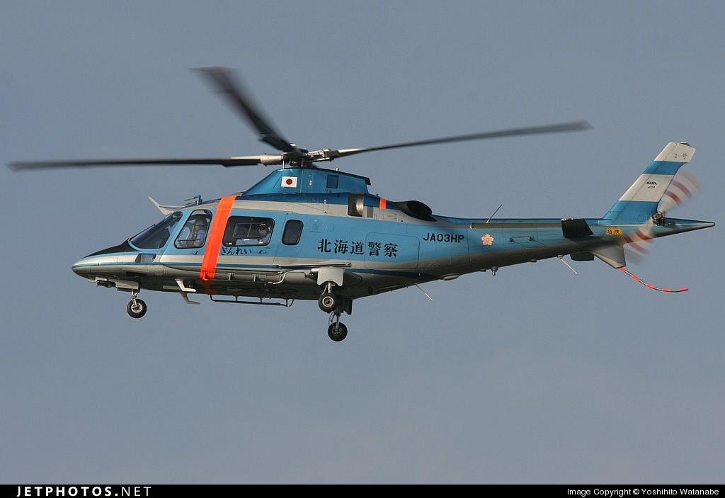 JA03HP - Agusta A109E Power - Japan - Police
