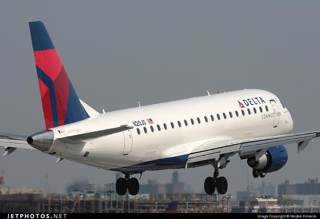 N213JQ - Embraer 170-200LR - Delta Connection (Shuttle America)