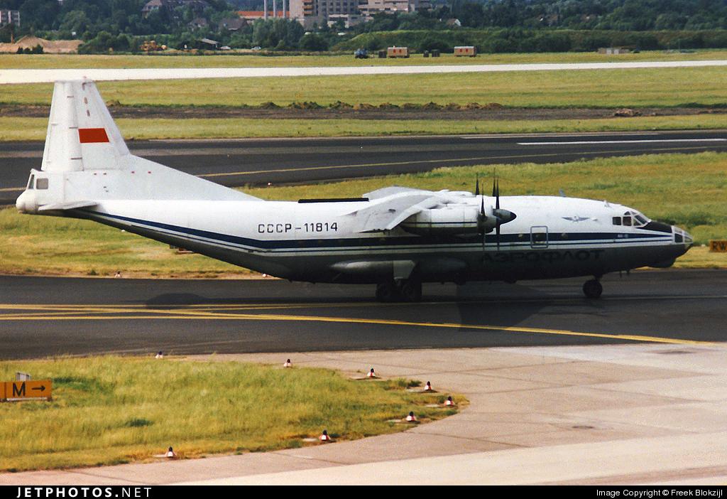 CCCP-11814 - Antonov An-12BP - Aeroflot