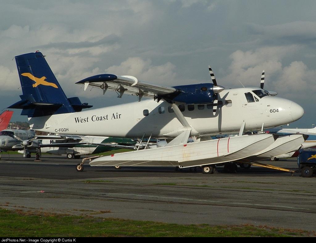 C-FGQH - De Havilland Canada DHC-6-100 Twin Otter - West Coast Air