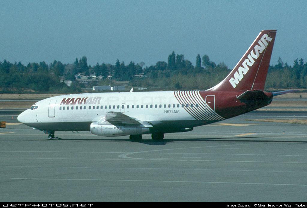 N672MA - Boeing 737-2X6C(Adv) - Markair