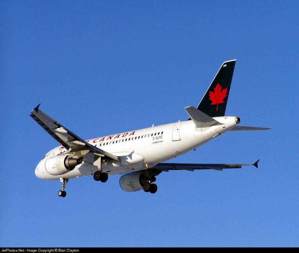 C-GJCT - Airbus A319-112 - Air Canada