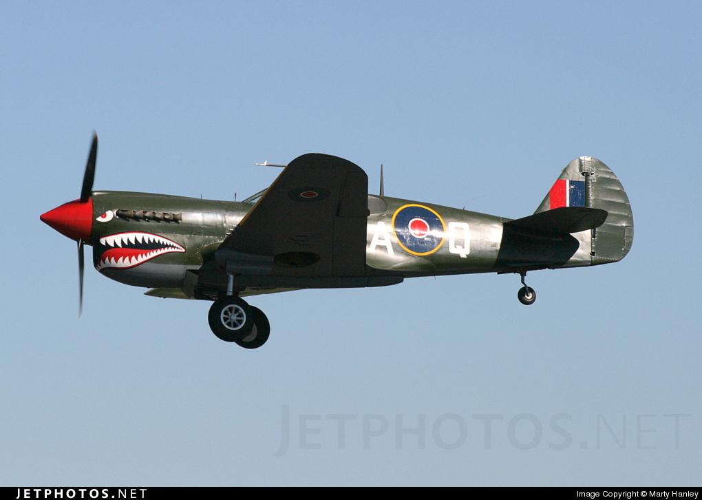 VH-ZOC - Curtiss P-40N Kittyhawk - Private