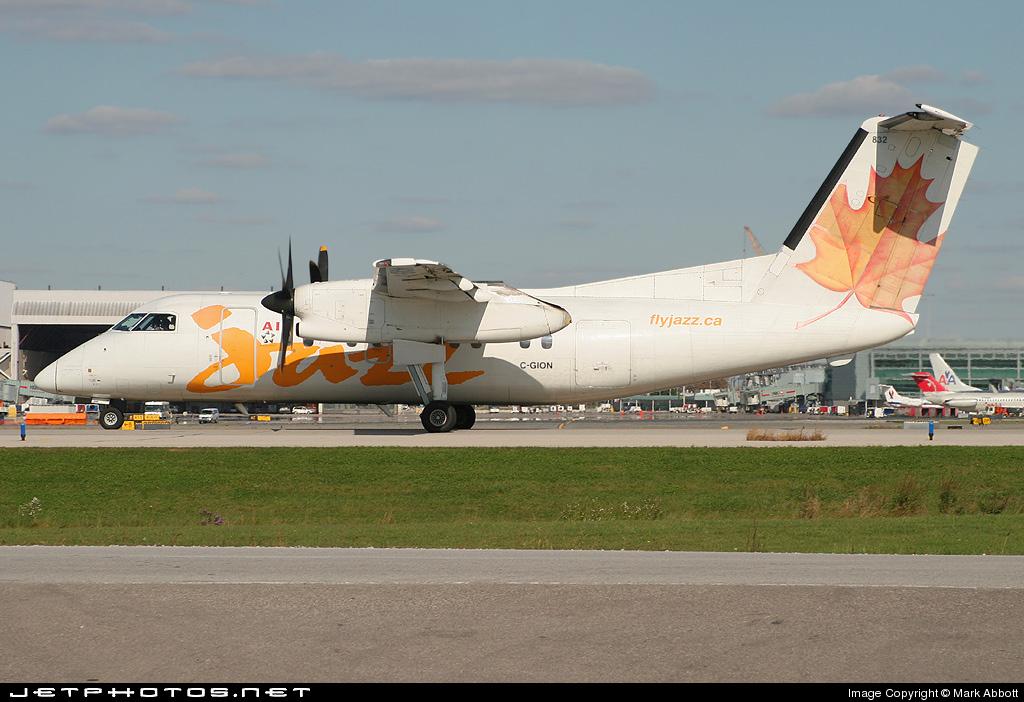 C-GION - Bombardier Dash 8-102 - Air Canada Jazz