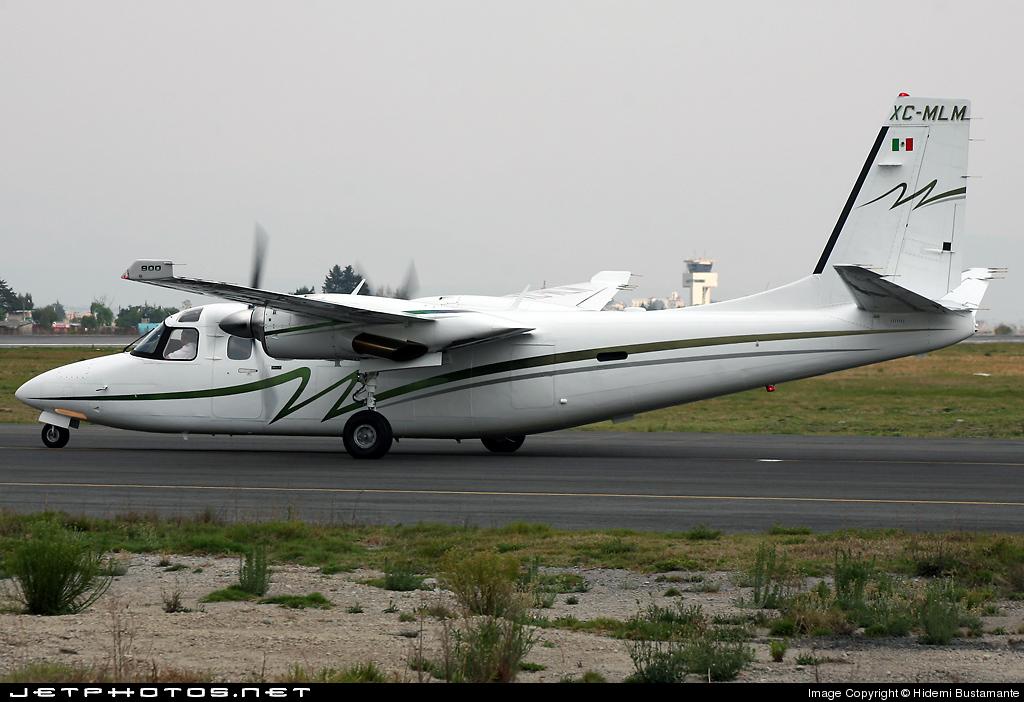 XC-MLM - Gulfstream Commander 690D Jetprop 900 - Mexico - Government