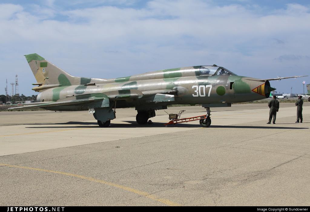 307 - Sukhoi Su-22M3 Fitter - Libya - Air Force