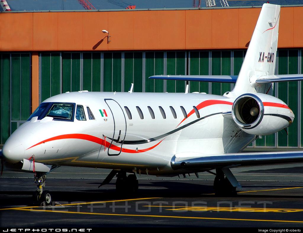 XA-GMO - Cessna 680 Citation Sovereign - Private