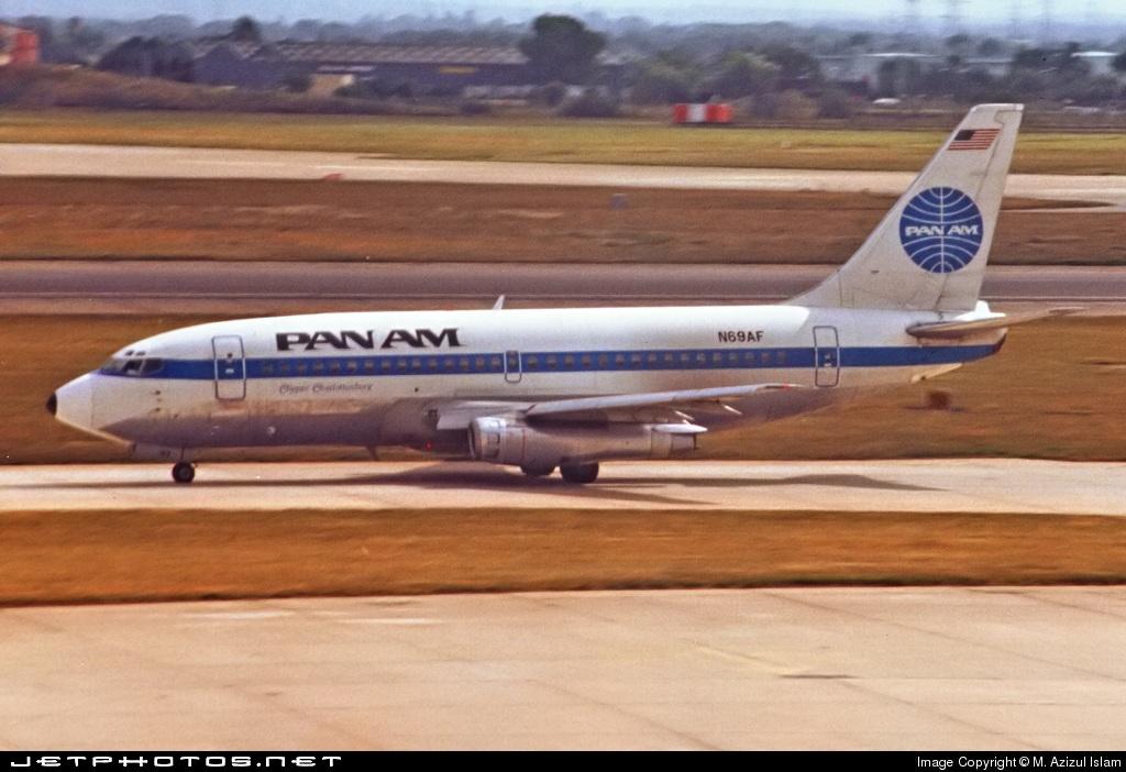 N69AF - Boeing 737-222 - Pan Am