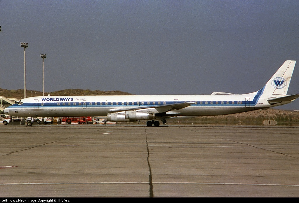 C-FCPP - Douglas DC-8-63(CF) - Worldways Canada
