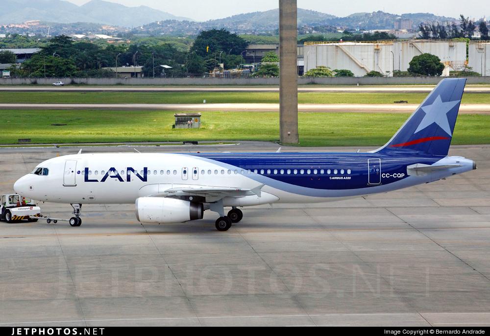 CC-CQP - Airbus A320-233 - LAN Airlines
