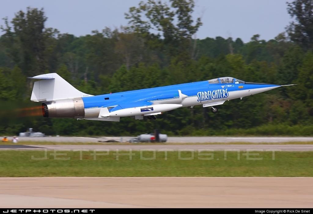 N104RN - Canadair CF-104D Starfighter - Starfighters Demonstration Team