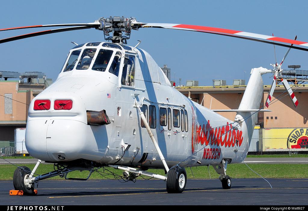 N902CH - Sikorsky S-58 - Private