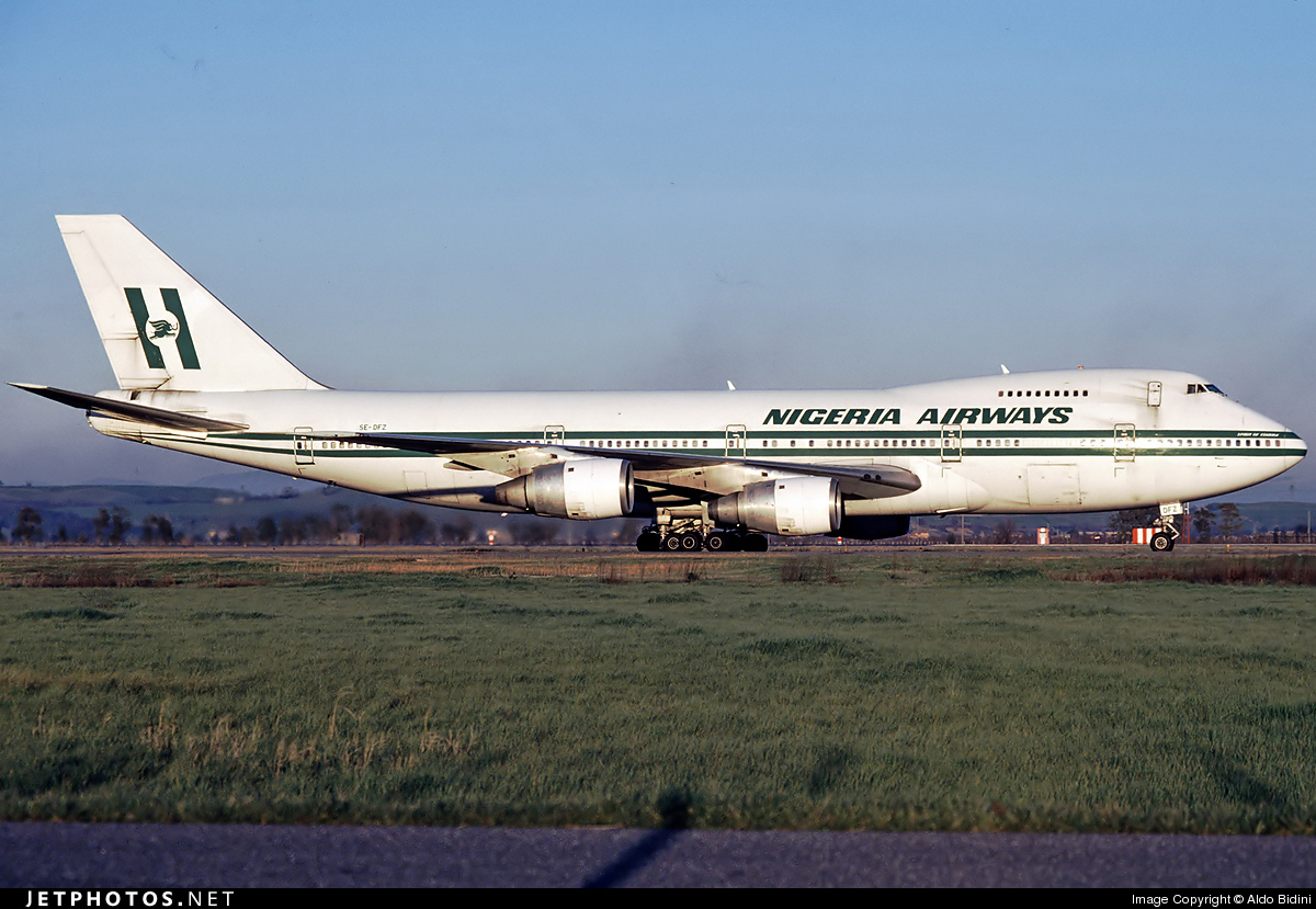 SE-DFZ - Boeing 747-283B - Nigeria Airways