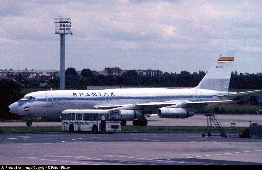 EC-BXI - Convair CV-990-30A-5 - Spantax