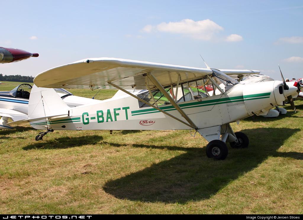 G-BAFT - Piper L-21B Super Cub - Private