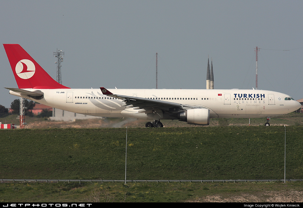 TC-JNB - Airbus A330-203 - Turkish Airlines