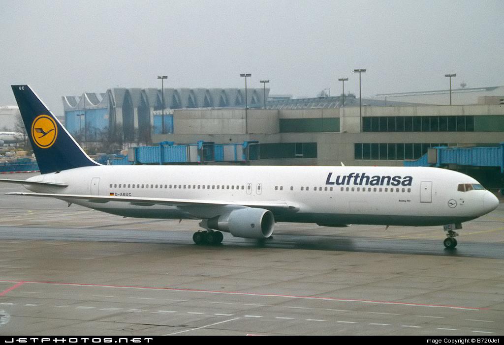 D-ABUC - Boeing 767-330(ER) - Lufthansa