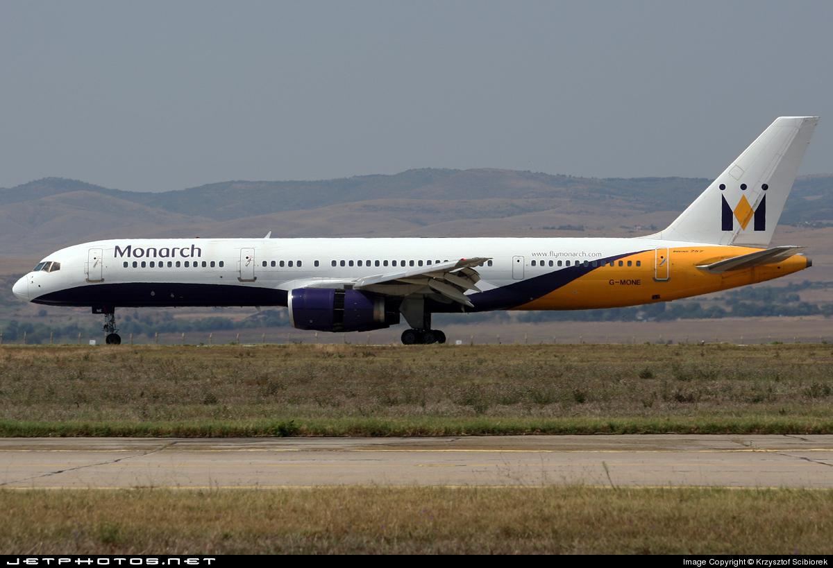 G-MONE - Boeing 757-2T7 - Monarch Airlines