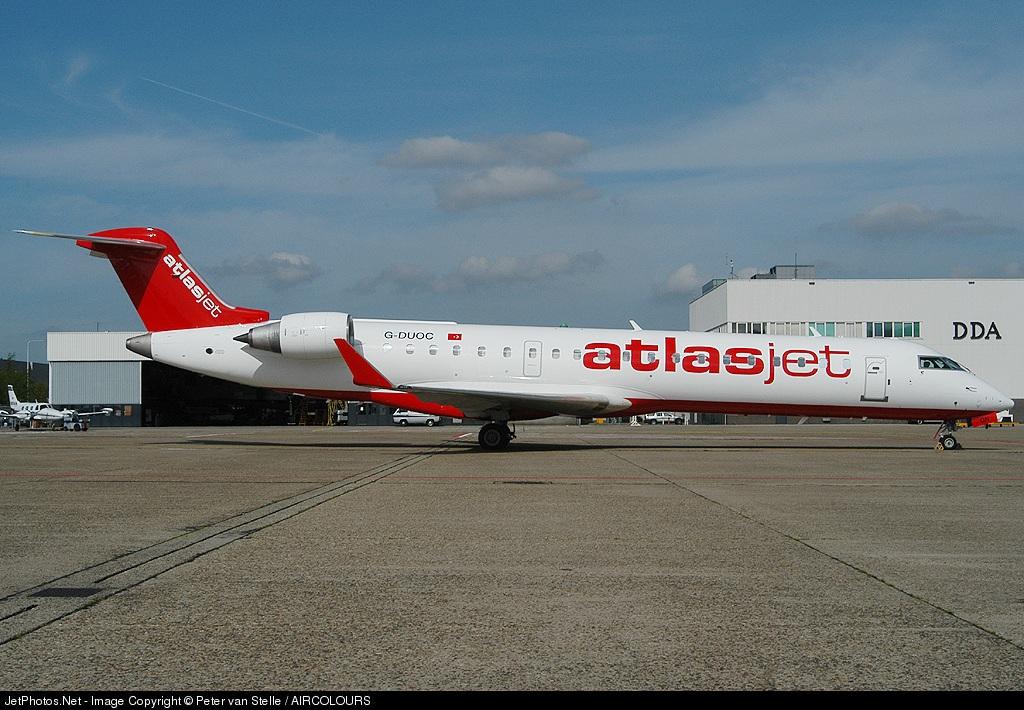 G-DUOC - Bombardier CRJ-701 - AtlasJet