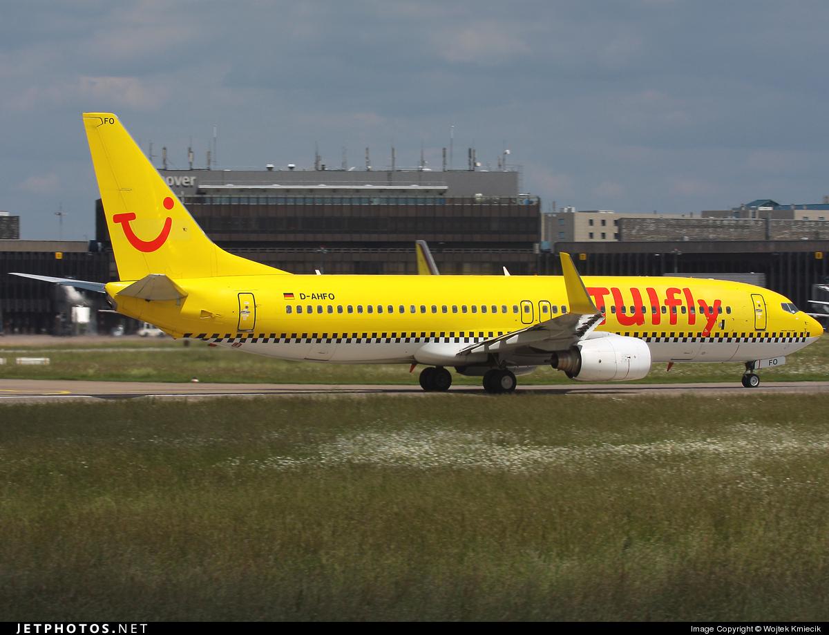 D-AHFO - Boeing 737-8K5 - TUIfly