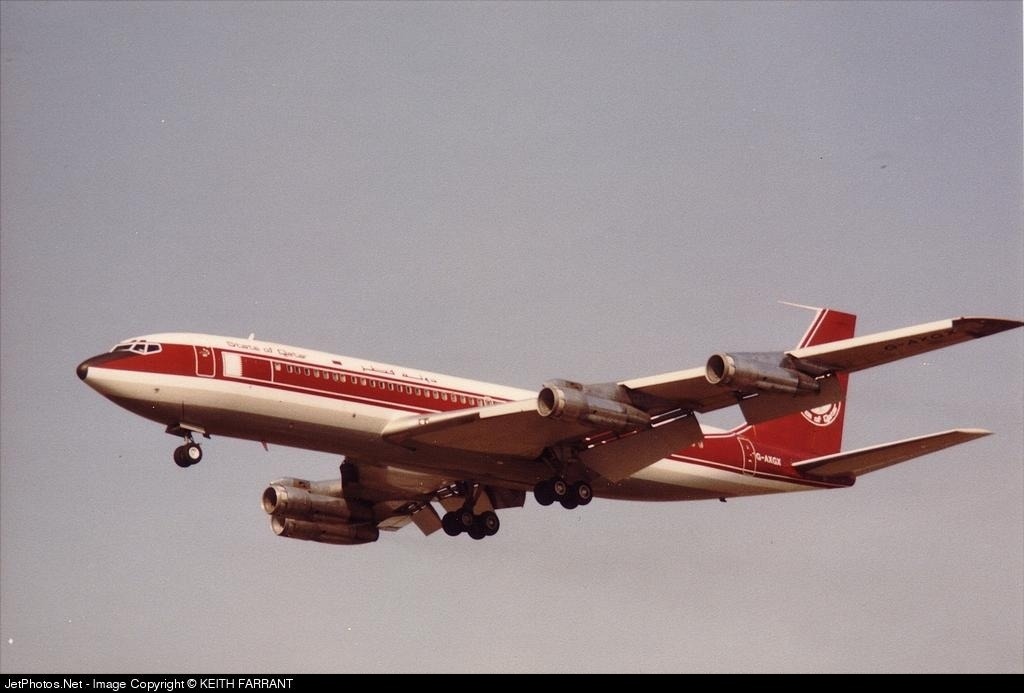 G-AXGX - Boeing 707-336C - Private