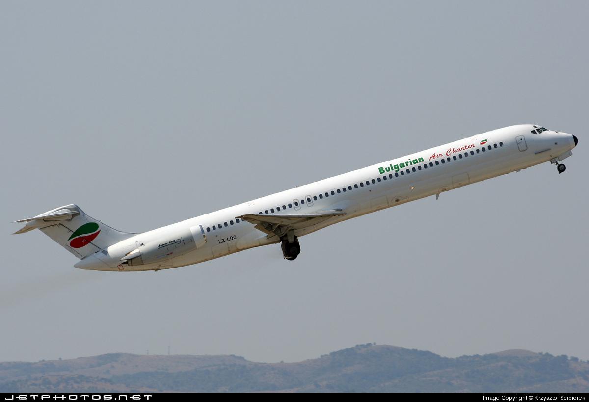 LZ-LDC - McDonnell Douglas MD-82 - Bulgarian Air Charter (BAC)