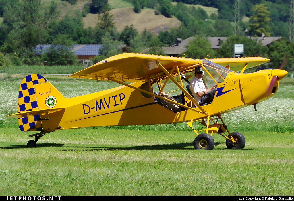 D-MVIP - Zlin Savage 912 - Private