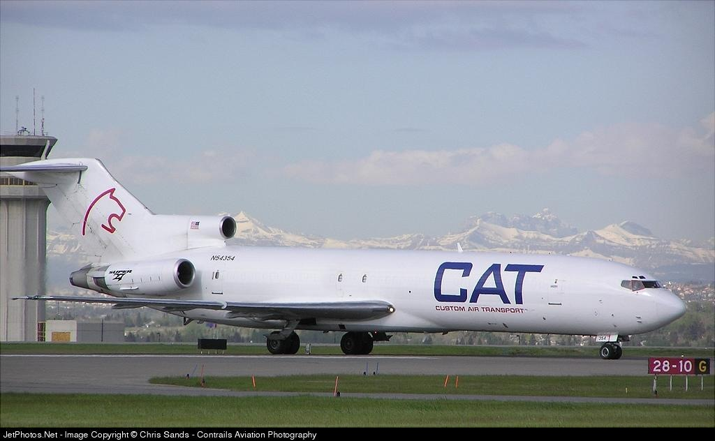 N54354 - Boeing 727-231(Adv)(F) - Custom Air Transport