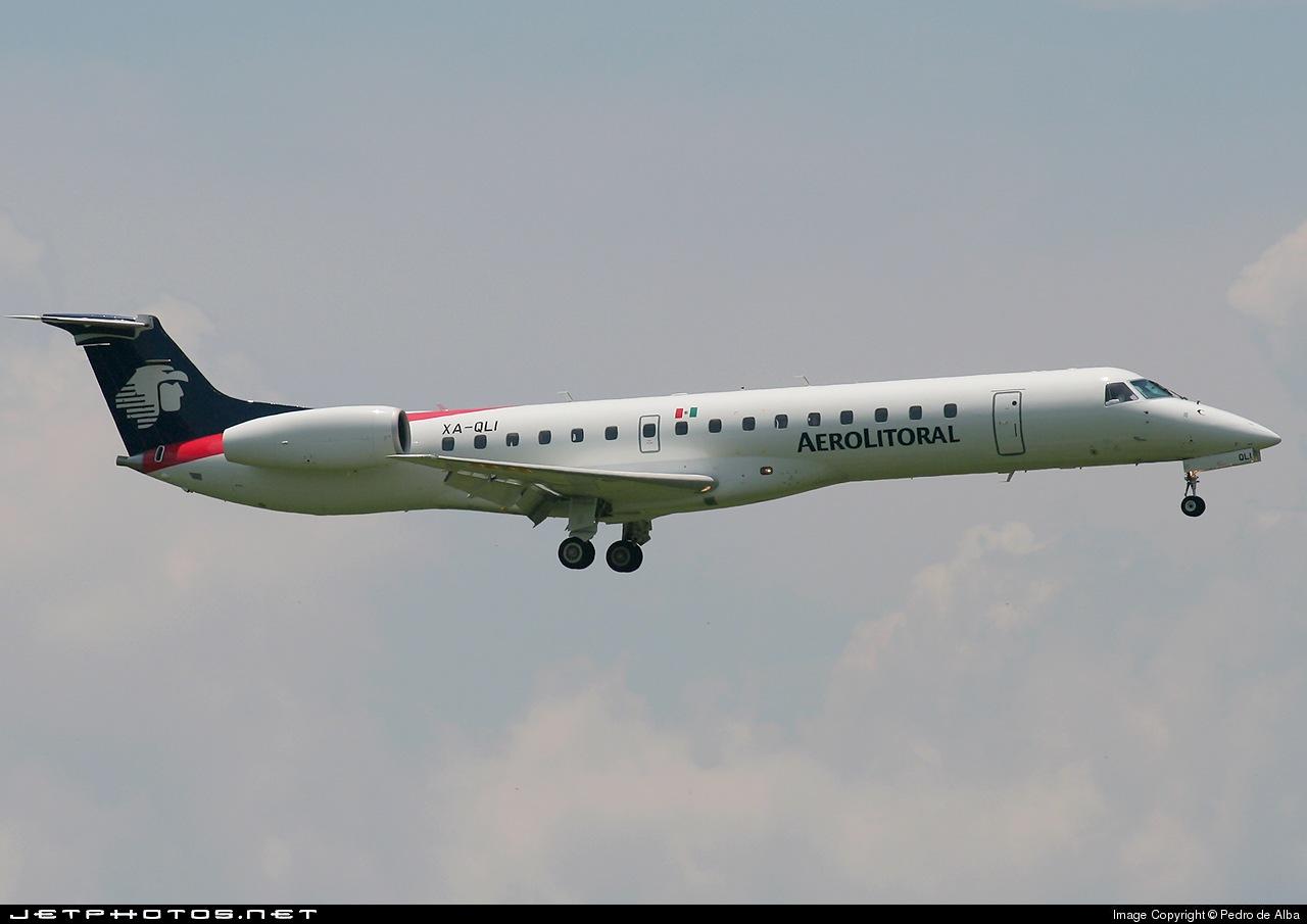XA-QLI - Embraer ERJ-145LU - Aerolitoral