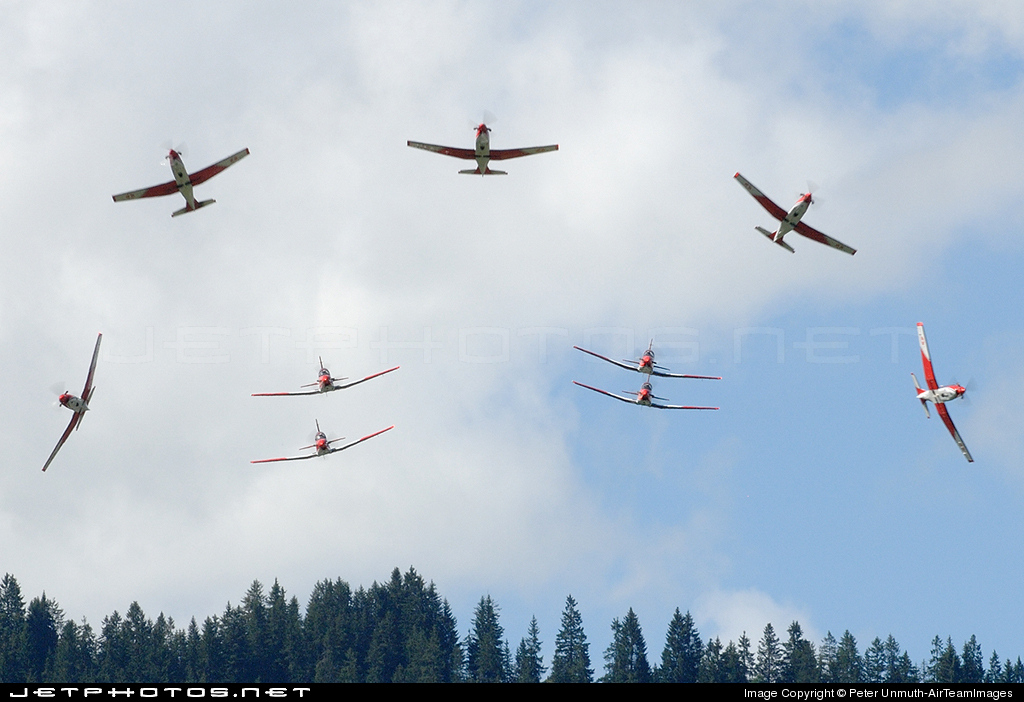 A-934 - Pilatus PC-7 - Switzerland - Air Force