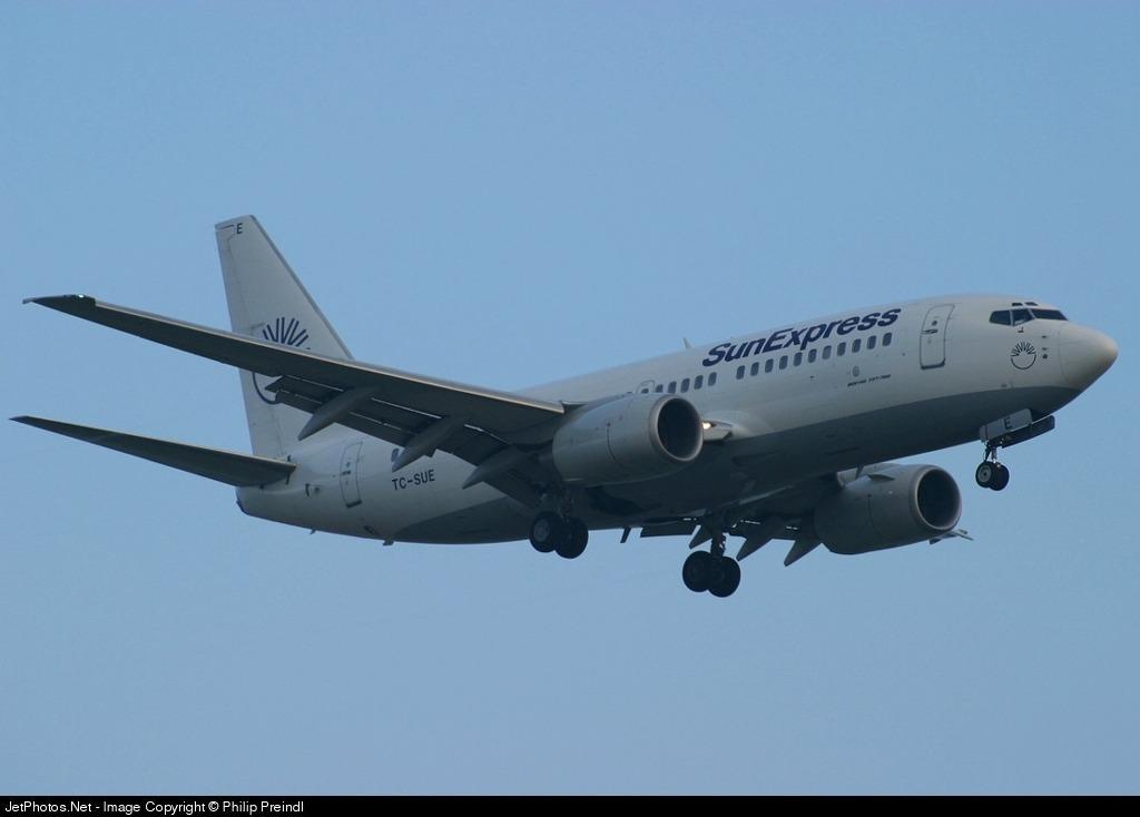 TC-SUE - Boeing 737-73S - SunExpress