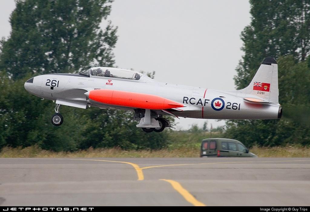 G-TBRD - Canadair CT-133 Silver Star III - Private