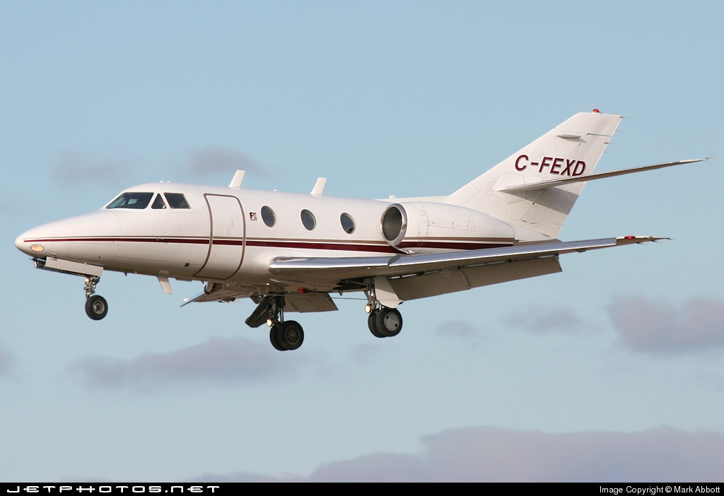 C-FEXD - Dassault Falcon 10 - Private