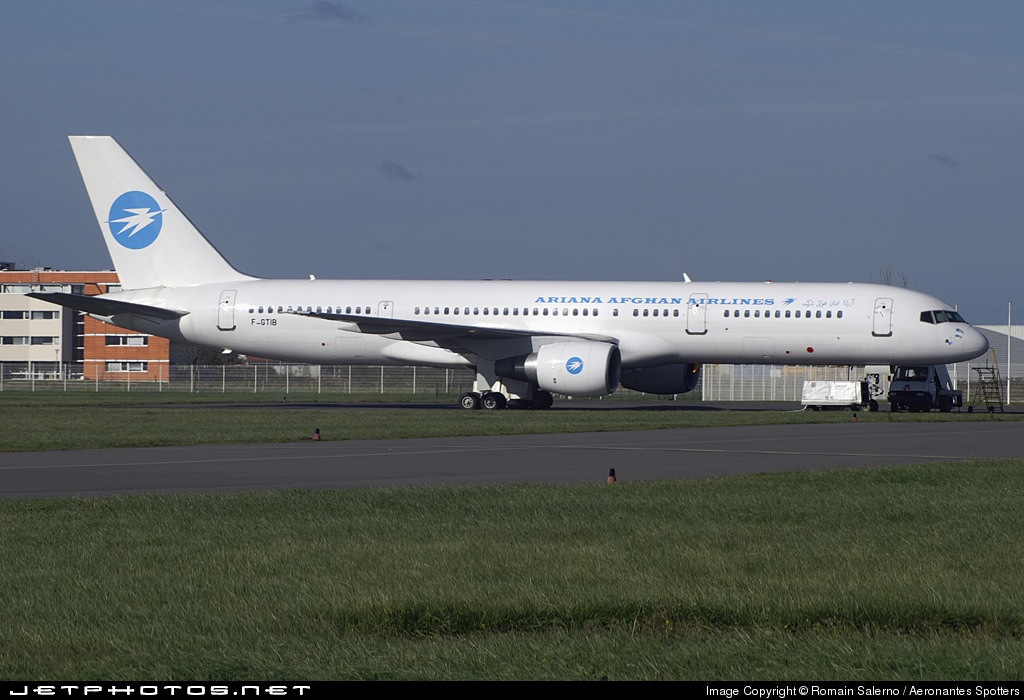 F-GTIB - Boeing 757-28A - Ariana Afghan Airlines (Eagle Aviation)