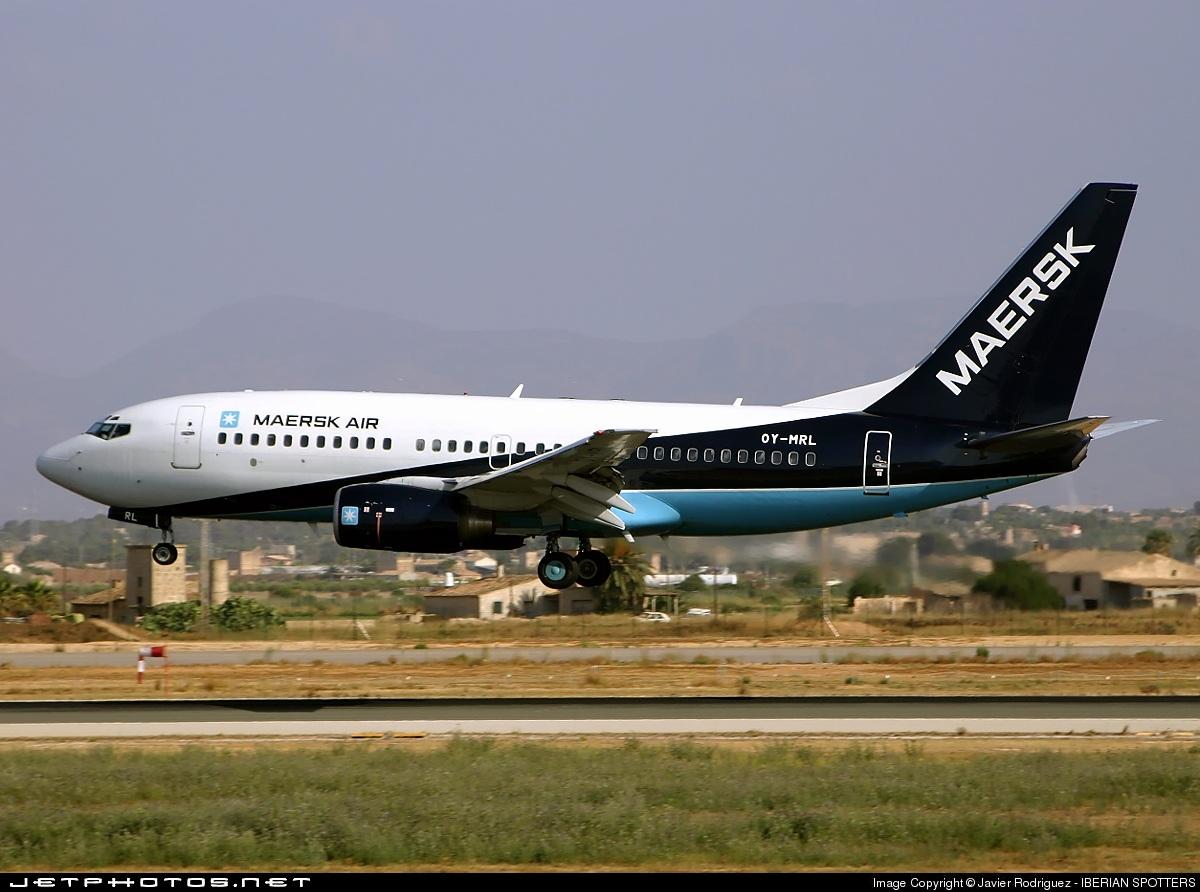 OY-MRL - Boeing 737-7L9 - Maersk Air