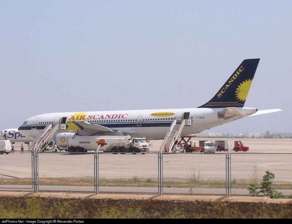 G-SWJW - Airbus A300B4-203 - Air Scandic