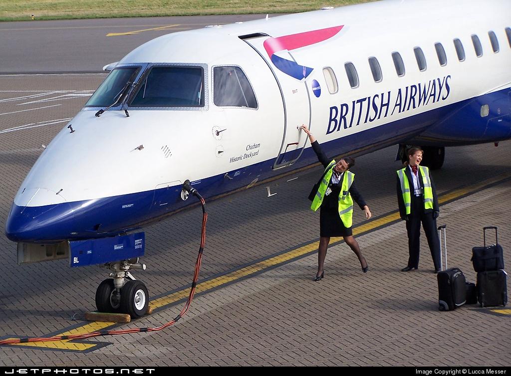 G-EMBL - Embraer ERJ-145EU - British Airways (CityFlyer Express)