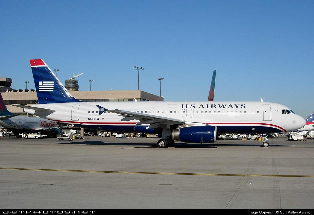 N651AW - Airbus A320-232 - US Airways (America West Airlines)
