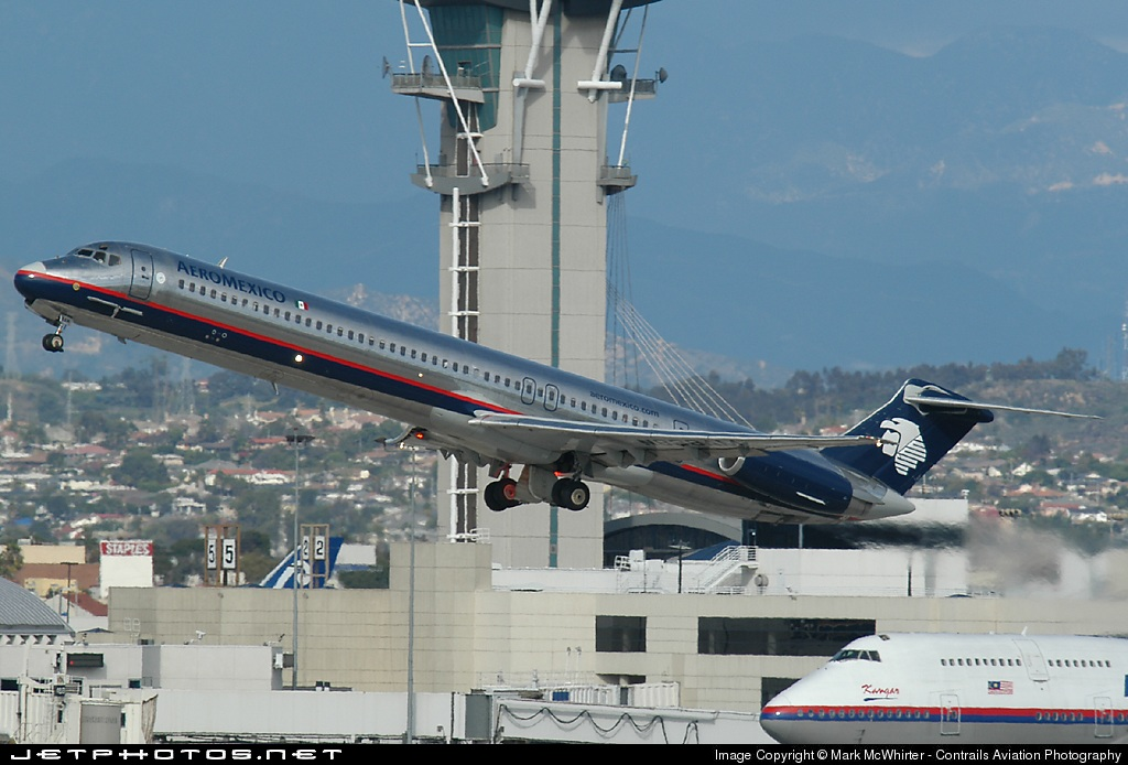 N838AM - McDonnell Douglas MD-83 - Aeroméxico