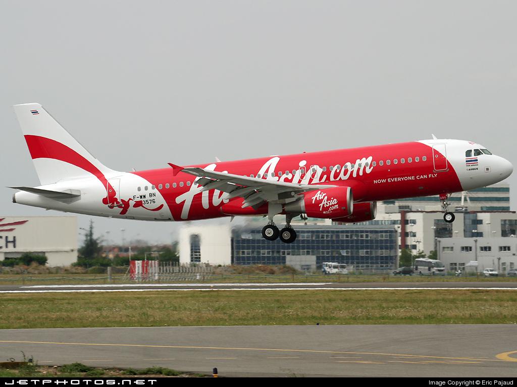 F-WWBN - Airbus A320-216 - Thai AirAsia