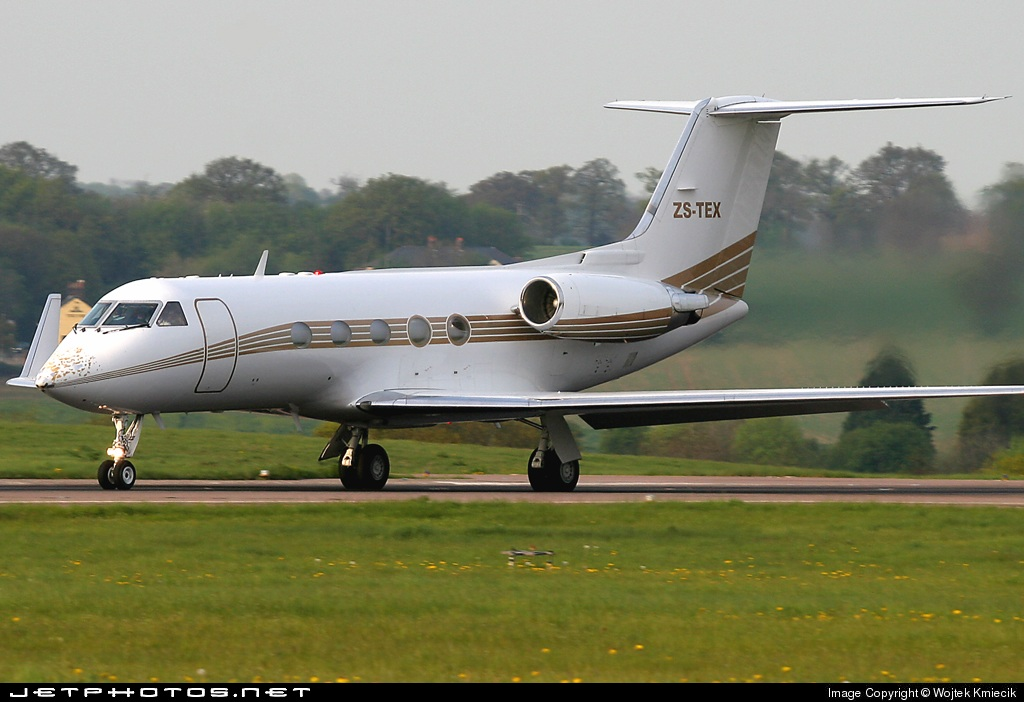 ZS-TEX - Gulfstream G-III - Private