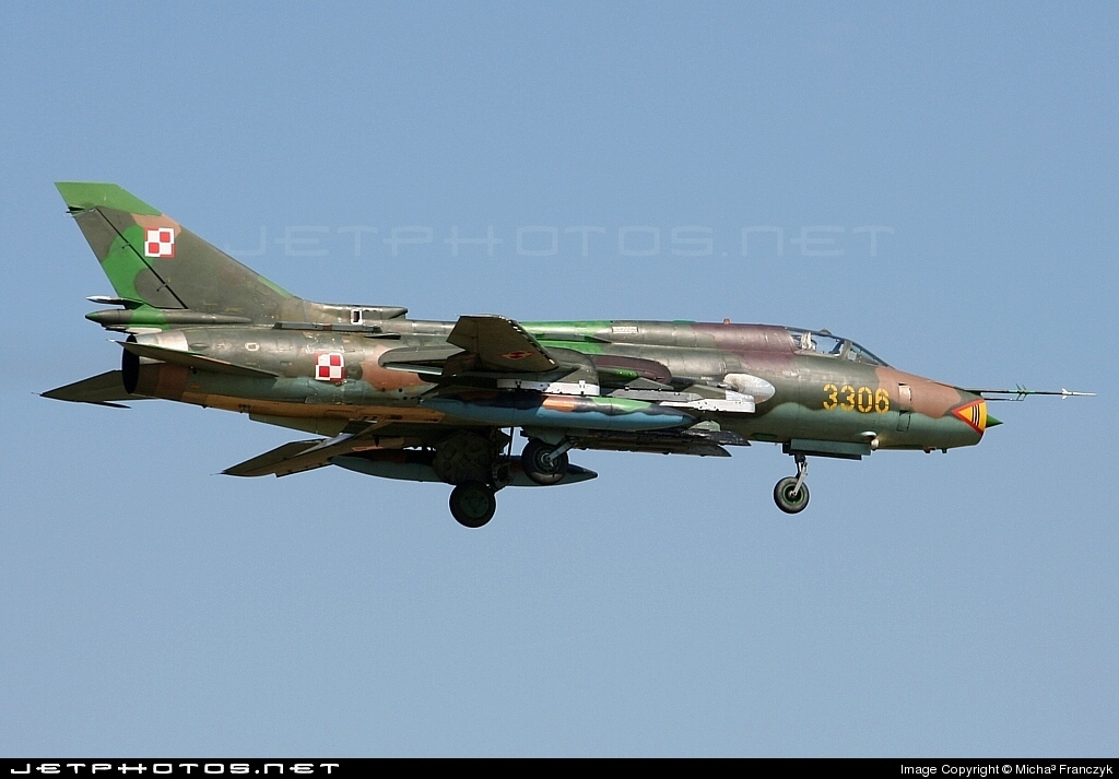 3306 - Sukhoi Su-22M4 Fitter K - Poland - Air Force