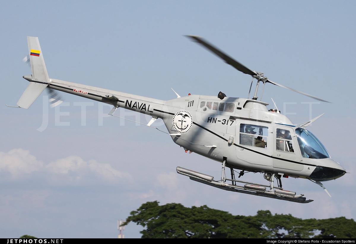 HN-317 - Bell 206B JetRanger II - Ecuador - Navy