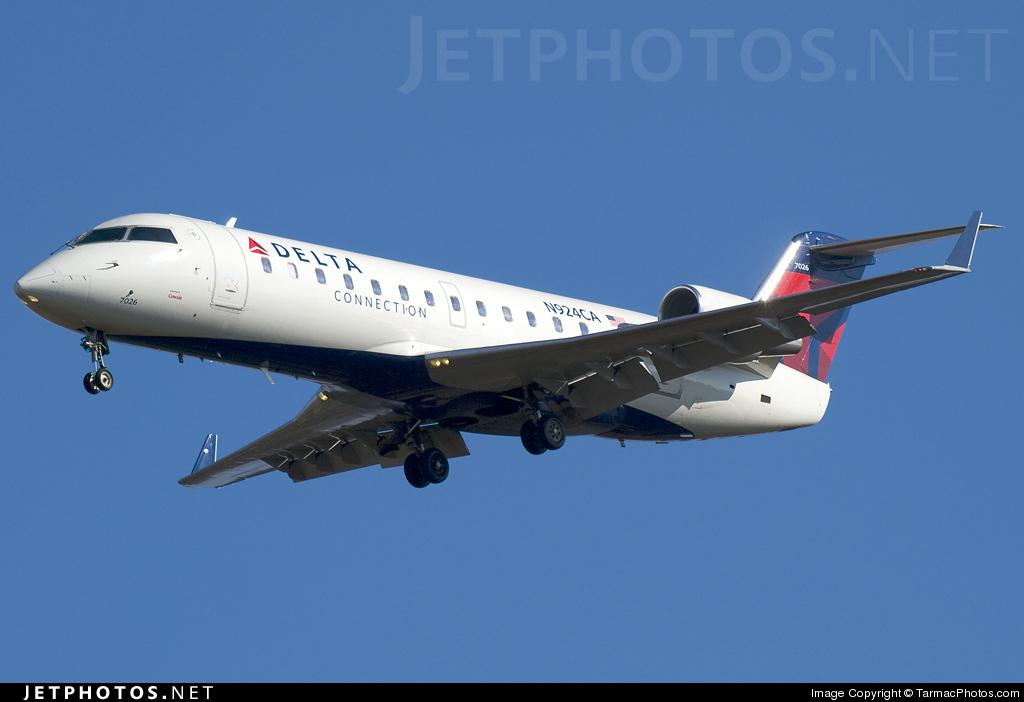 N924CA - Bombardier CRJ-100ER - Delta Connection (Comair)